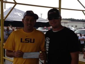 2nd place  Derek Braud & Bryce Hanna $1000