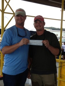 3rd place  Willie Couch III & Warren Couch $700