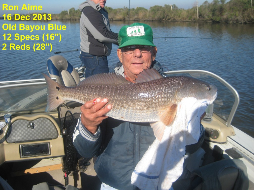 Fishing Report 12-16-13